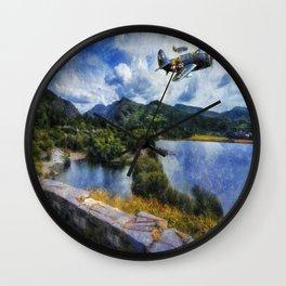 Lake Flight 1940's Wall Clock