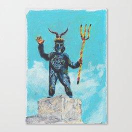 The Devil of Mallorca Canvas Print
