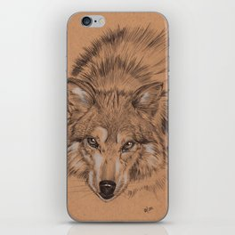 Wolf of the Tundra iPhone Skin