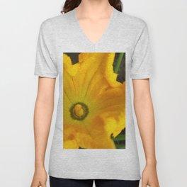 Pumpkin flower Unisex V-Neck