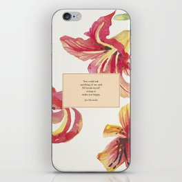 You could ask anything of me...Jace Herondale. The Mortal Instruments. iPhone Skin