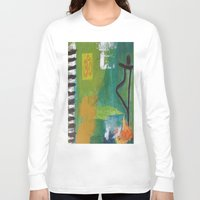yoga Long Sleeve T-shirts featuring YOGA by Prema Designs