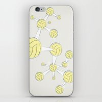 soccer iPhone & iPod Skins featuring Soccer DNA by HenryWine