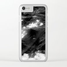 almost joy division Clear iPhone Case