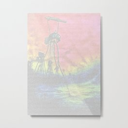 War of the Worlds. One Sheet Print Metal Print