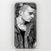 matty healy iPhone & iPod Skins featuring Matty Healy by rachelmbrady_art