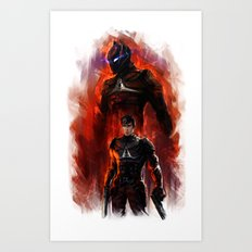 arkham knight Art Print