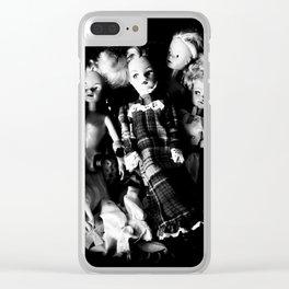 Thrift Shop Girls Clear iPhone Case