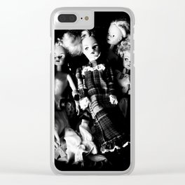 Thrift Shop Girls Clear iPhone Case