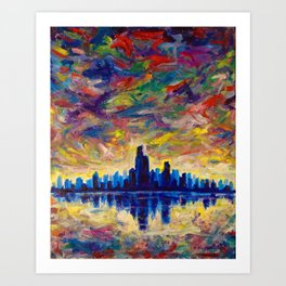 Calm After The Storm Art Print