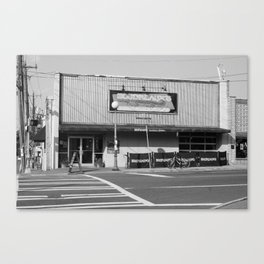 Boudreaux's Louisiana Kitchen B&W Canvas Print