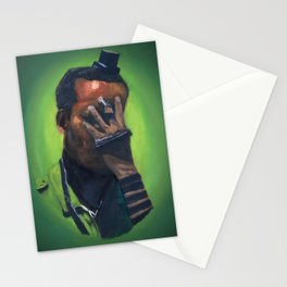 Untitled (soldier, green) Stationery Cards