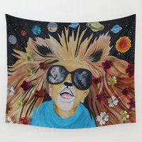 pocket fuel Wall Tapestries featuring Fuel Your Imagination by AMFcreations