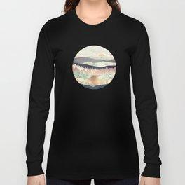 Golden Spring Reflection Long Sleeve T-shirt
