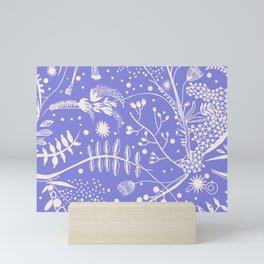 Secret Garden Lilac Mini Art Print