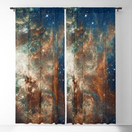 Space Nebula, Star and Space, A View of Galaxy and Outerspace Blackout Curtain