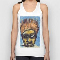 indonesia Tank Tops featuring Surf's Up ~ Indonesia Art by Ali by FiVe