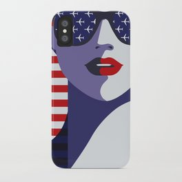 American Stewardess iPhone Case