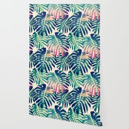 Monstera Leaves Wallpaper