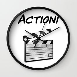 Action! Wall Clock