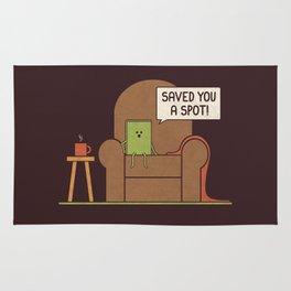 Saved You a Spot Rug