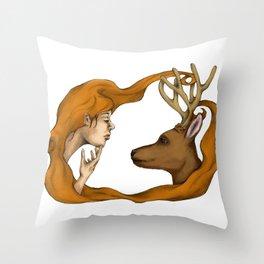nurture vs nature Throw Pillow