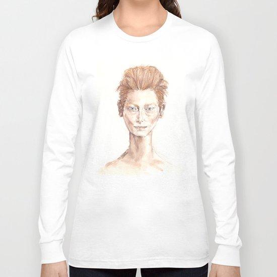 Tilda Swinton Inspiration Long Sleeve T-shirt