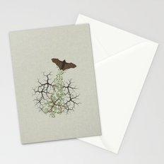 fruit bat paints forest Stationery Cards