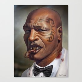 """Mike Tyson """"Punched OUT"""" Canvas Print"""