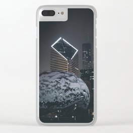 A Night of Cloud on Ice Clear iPhone Case