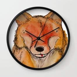 Mister Fox Wall Clock
