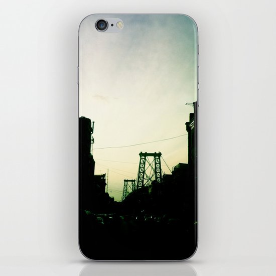 Williamsburg Bridge iPhone & iPod Skin