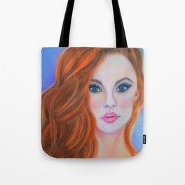 Glamorous Redhead Jessica Rabbit Tote Bag