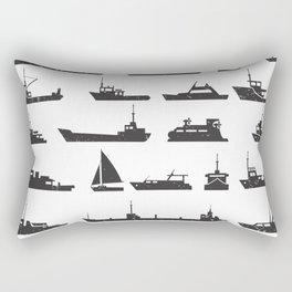 Ships Rectangular Pillow
