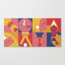 BBQ Canvas Print