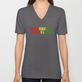 Without Reggae Music Unisex V-Neck