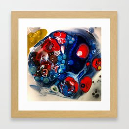 Poolside Behavior Framed Art Print