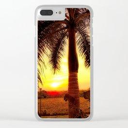"""""""Sunset In Puerto Vallarta 2"""" Clear iPhone Case"""