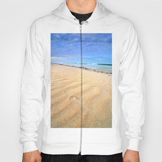 """""""Levante wind """" Magic Tarifa beach at sunrise Hoody"""