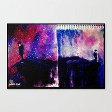 Edges and Horizons Canvas Print