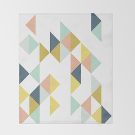 Modern Geometric Design Throw Blanket