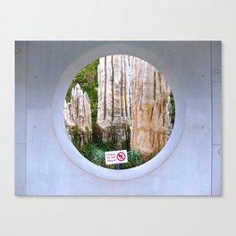Dimensionality Canvas Print
