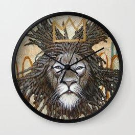 Hommage a Basquiat Wall Clock