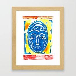 Mujer Framed Art Print