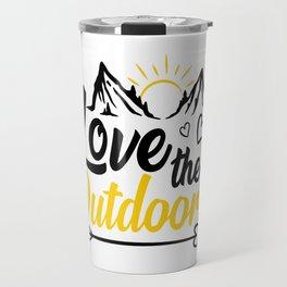 Love the Outdoors Travel Mug