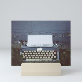 Writer's Block Mini Art Print