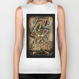 AC/DC angus young Biker Tank