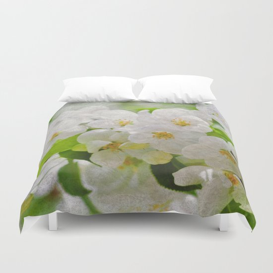 Sakura Blossoms 02 Duvet Cover