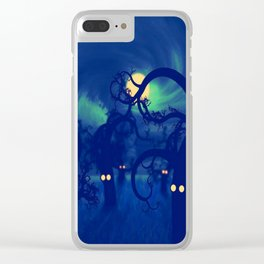 DARK FOREST Clear iPhone Case