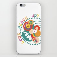 70s iPhone & iPod Skins featuring 70s Circle  by Louise Machado
